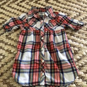 Toddler Flannel Dress